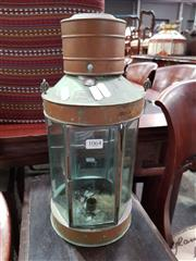 Sale 8740 - Lot 1064 - Vintage Metal Lantern