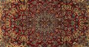 Sale 8740C - Lot 52 - A Very Fine Persian Esfahan From Isfahan Region 100% Wool Pile On Cotton Foundation, 350 x 225cm