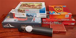 Sale 9108H - Lot 99 - A collection of puzzles & board games including darts.