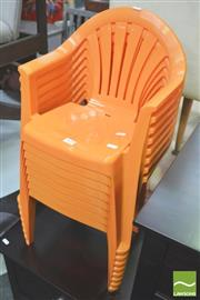Sale 8302 - Lot 1059 - Set of 8 Kids Chairs