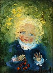 Sale 8692 - Lot 533 - David Boyd (1924 - 2011) - Happy Child 15 x 10.5cm
