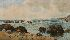 Sale 3655 - Lot 80 - Henri Tebbitt (1852-1926) - Coastal Scene