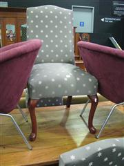 Sale 7931A - Lot 1187 - Set of 4 Upholstered Dining Chairs