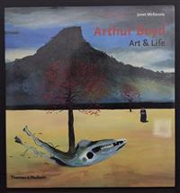 Sale 8176A - Lot 33 - Arthur Boyd. Art and Life  by Janet McKenzie. Inscribed and signed by author at title pages. Includes launch / invitation. Thames an...