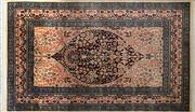 Sale 8256B - Lot 27 - Persian Kashan 157cm x 93cm RRP $800