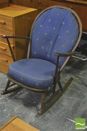Sale 8310 - Lot 1063 - Ercol Rocking Chair