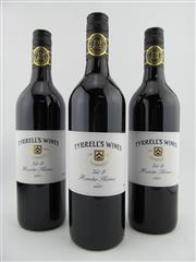 Sale 8385 - Lot 671 - 3x 2007 Tyrrells Vat 9 Shiraz, Hunter Valley