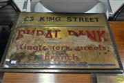Sale 8511 - Lot 1067 - Vintage Rural Bank Brass Sign