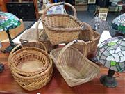 Sale 8669 - Lot 1090 - Collection of Wicker Baskets
