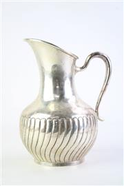 Sale 8827 - Lot 88 - Mexican Sterling Silver Pitcher