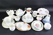 Sale 8832 - Lot 70 - A Collection of Various Ceramic Teawares inc Royal Adderley, Royal Albert and Others