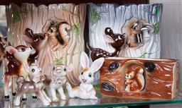 Sale 9103M - Lot 443 - A collection of Bambi themed ceramics.