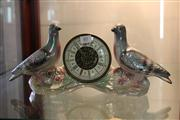 Sale 7977 - Lot 85 - Diana Lustre Pigeon Clock