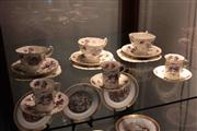 Sale 8022 - Lot 80 - 3 Hammersley & Co Set of 3 Trios and 3 Demitasse Cups & Saucers C233