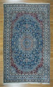 Sale 8672C - Lot 5 - Super Fine Persian Nain Silk Inlaid 302cm x 202cm