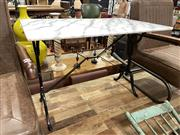 Sale 8901F - Lot 1053 - Waterproofed Marble Top Table