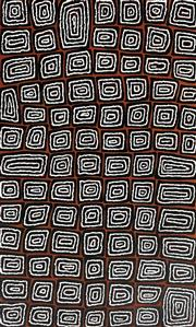 Sale 9072A - Lot 5041 - Thomas Tjapaltjarri (1964 - ) - Tingari Cycle, 2020 90 x 150 cm (stretched and ready to hang)