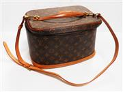 Sale 8312A - Lot 50 - A vintage Louis Vuitton cosmetic travel case, size 32 x 20 x 24 cm
