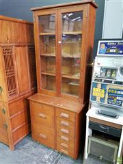 Sale 8566 - Lot 1142 - Vintage Teak Bookcase (188)