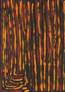 Sale 9100A - Lot 5077 - Bob Gibson Tjungurrayi (1974 - ) - Patjantja 79 x 54.5 cm (stretched and ready to hang)