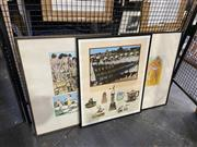Sale 8927 - Lot 2071 - Geoffrey Harvey (3 works) Day Dream; For Real Ben (Bondi Beach); Pride of Placescreenprints, each 65.5 x 52cm (frames) and signed
