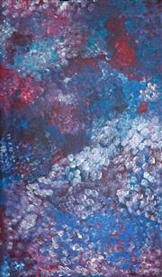 Sale 8992 - Lot 541 - Emily Kame Kngwarreye (c1910 - 1996) - Untitled 135 x 80 cm