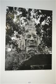 Sale 8068A - Lot 13 - Tony Argento - West Gate Angkor Thom, Cambodia 2001 40.5 x 50cm