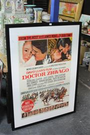 Sale 8257A - Lot 89 - Movie Posters (2) - The King and I & Doctor Zhivago