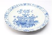 Sale 8701 - Lot 328 - Kangxi Marked Blue and White Charger ( Dia 46cm)
