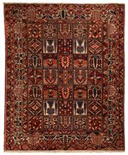 Sale 8800C - Lot 7 - A Persian Bakhtiyari And Classic Garden Design, 100% Wool On Cotton, Classed As Prerevolution Weave, 330 x 270cm