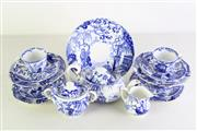 Sale 8977 - Lot 4 - A Blue and White Royal Crown Derby Part Tea Suite (Some Minor Ware)