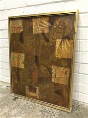 Sale 9056 - Lot 1076 - Vintage American Abstract on Board (h:74 x w:59cm)
