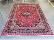 Sale 9051 - Lot 1073 - Hand Knotted Pure Wool Persian Kashan (294 x 394cm)