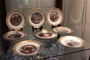Sale 8022 - Lot 81 - Royal Copenhagen Collection of The Hans Christian Anderson Plates 9628