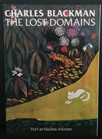 Sale 8176A - Lot 37 - Charles Blackman. The Lost Domain. Text by Nadie Amadio. Art by Charles Blackman. Reed 1980. Elephant Folio in bookcase, colour plat...