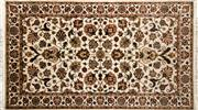 Sale 8256B - Lot 29 - Indian Silk in Wool 160cm x 90cm RRP $600