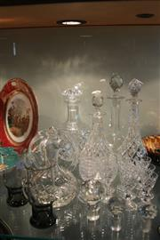 Sale 8269 - Lot 80 - Stuart Crystal Drink Wares with Crystal incl. Decanters