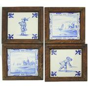 Sale 8356 - Lot 24 - Delft Blue & White Early Tiles