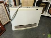 Sale 8548 - Lot 2200 - Rinnai Gas Heater Avenger 25 (a/f- missing screen filter, hose replaced)