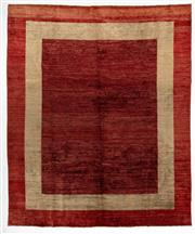 Sale 8800C - Lot 8 - A Striped Afghan Gabbeh Floor Rug, Hand Knotted And Naturally Dyed, 271 x 328cm