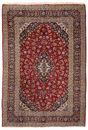 Sale 8800C - Lot 9 - A Persian Kashan From Isfahan Region 100% Wool Pile On Cotton Foundation, 245 x 360cm