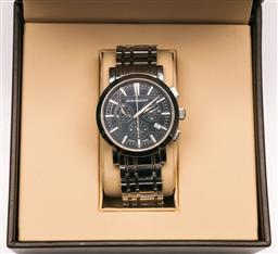 Sale 9138 - Lot 124 - Burberry Chronograph Watch in Box With Book