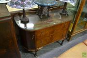 Sale 8465 - Lot 1030 - Art Deco Mirrored Back Dressing Table