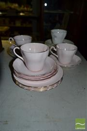 Sale 8548 - Lot 2382 - Tuscan Cups and Saucers Together with other Ceramics inc Aynsley