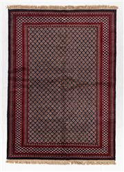 Sale 8780C - Lot 248 - A Persian Turkaman, Wool On Cotton Foundation Classed As Tribal Rugs, 253 x 213cm