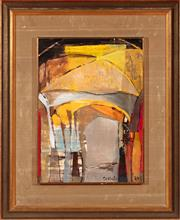 Sale 8855H - Lot 13 - Judy Cassab (b. 1920) Cordoba oil on board 37 x 27cm SLR and dated 69