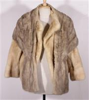 Sale 9023 - Lot 72 - A Hammerman Fur Coat (Size M) Together with Another Stole