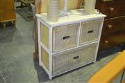 Sale 8165 - Lot 1035 - Three Drawer Cabinet