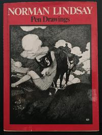 Sale 8176A - Lot 40 - Norman Lindsay   Pen Drawings. Ure Smith. Fifty-six black and white plates. 1974. Hardback with dustjacket.