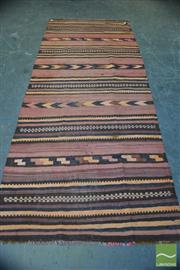 Sale 8406 - Lot 1175 - Persian Kilim (300 x 120cm)